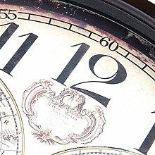 Einfach Wohnzimmer Wanduhr Landhausstil Dekoration Wanduhr Stumm Uhren und Uhren , black