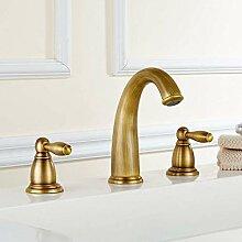 Einfach zu installieren Copper Badezimmer Chrom