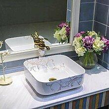 Einfach zu installieren Oval Ceramic Art