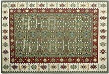 Einfache Art und Weise Teppich Mats Nordic Schlafzimmer Bett Decke Wohnzimmer-Sofa-Kissen-Teppich 70 * 120CM Wear Antibakteriell