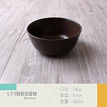 Einfache asiatische Keramik Geschirr Western Dish