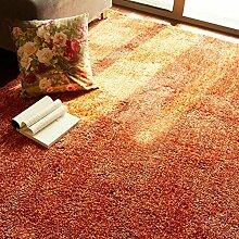 Einfache Bay Fenster Wohnzimmerteppich/Schlafzimmer Nachttisch Teppiche/ Sofa-Teppich/Tischsets-C 140x200cm(55x79inch)