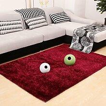 Einfache Couchtisch Schlafzimmer Nachttisch europäischen Stil Wohnzimmer Teppich A+ ( Farbe : 9 , größe : 120*170cm )