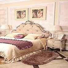einfache Dicke super weichen Teppich/Stretch ovalen Wohnzimmer Schlafzimmer Bett Teppiche-C 80x160cm(31x63inch)