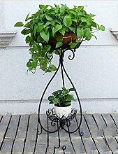 Einfache Eisen kreative mehrschichtige Blume Regal Regal Balkon Boden Pflanzer Regal Einfache moderne Wohnzimmer Indoor Blumenregal (3 Modelle, die gleiche Größe) ( farbe : A )