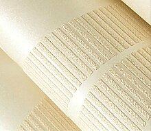 Einfache Europäische Schlafzimmertapete Geprägt 3D Vertikale Streifen Vliestapete Im Wohnzimmer Kulisse,Yellow