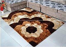 Einfache europäische und amerikanische rechteckige Teppich Wohnzimmer Sofa Schlafzimmer Couchtisch Bettwäsche Matten , 8 , 120*170cm