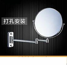 Einfache europäischen Badezimmerspiegel/Wand versahen Badezimmerspiegel/Badspiegel/Drehspiegel-D