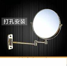Einfache europäischen Badezimmerspiegel/Wand versahen Badezimmerspiegel/Badspiegel/Drehspiegel-F
