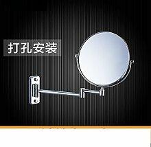 Einfache europäischen Badezimmerspiegel/Wand versahen Badezimmerspiegel/Badspiegel/Drehspiegel-A