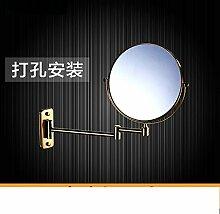 Einfache europäischen Badezimmerspiegel/Wand versahen Badezimmerspiegel/Badspiegel/Drehspiegel-B