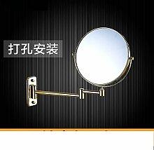 Einfache europäischen Badezimmerspiegel/Wand versahen Badezimmerspiegel/Badspiegel/Drehspiegel-C