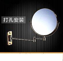Einfache europäischen Badezimmerspiegel/Wand versahen Badezimmerspiegel/Badspiegel/Drehspiegel-E