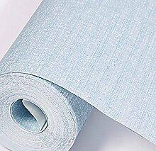 Einfache Feste Farbe Leinen Tapete Vliestapete Schlafzimmer Wohnzimmer Voll Von Geschäften Ebene,Blue