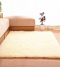 Einfache feste Farbe Teppich Wasserabsorption rutschfeste Rechteck Sofa Couchtisch Teppich Hall Wohnzimmer Schlafzimmer Teppich ( Farbe : E , größe : 80*200CM )
