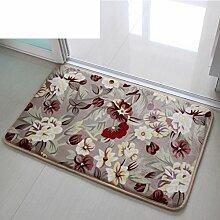 Einfache Fußmatten/Foot Pad/Indoor-matten/Lobby Fußmatten/Veranda Schlafzimmer Matten/Badezimmer-matten-A 40x60cm(16x24inch)
