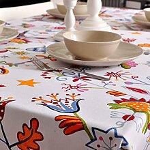 Einfache gewebe-tischtuch/tischtuch/tischtuch/tischtuch/garten-abdeckung handtuch-D 70x70cm(28x28inch)