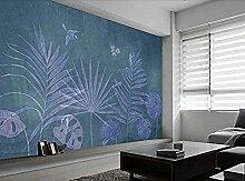 Einfache handgezeichnete tropische Pflanze