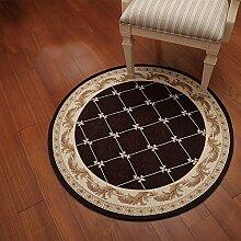 Einfache Haushalt runden Teppich / Computer Stuhl Matte / Korb Teppich / Studie Nacht runden Decke / ( stil : B )