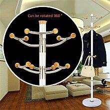 Einfache Installation / Überlegene Qualität Mantel Racks Hochwertige Edelstahl Landung Einfache Kleidung Kleiderbügel Wohnzimmer Kreative Kleiderbügel (178 * 40cm) Langlebig / gesund / starkes Lager ( farbe : #2 )