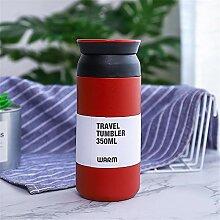 Einfache Kaffeetasse aus Edelstahl, tragbarer
