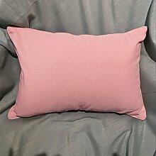 einfache Kissen/PP Baumwoll-Kissen/Sofa-Bett halten Baumwolle Kissenbezug-D 55x55cm(22x22inch)VersionA