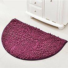 Einfache kreative Schlafzimmer Bedside Carpet The Door Teppich Wasserabsorption rutschfeste Badezimmer Wohnzimmer Hall Sofa Teppich ( Farbe : B , größe : 50*80CM )