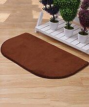 Einfache kreative Schlafzimmer Bedside Carpet The Door Teppich Wasserabsorption rutschfeste Badezimmer Wohnzimmer Hall Sofa Teppich ( Farbe : B , größe : 40*60cm )