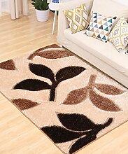 Einfache kreative Wasser-Absorption Anti-Rutsch-Tür Tür Teppich Wohnzimmer Sofa Teppich Schlafzimmer Bedside Teppich ( Farbe : E , größe : 140*200CM )