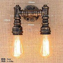 Einfache kreative Wasserpfeife Wandleuchte Lampe