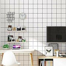 Einfache Linien Schwarz-Weiß-Streifen Tapete