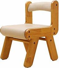 Einfache moderne Kinderstuhl Rückenlehne Stuhl Kinder Hocker Schreiben Abendessen Antike Hocker (Farbe optional) ( Farbe : #1 , design : Pack of 3 )