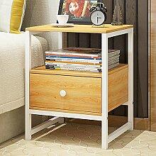 Einfache moderne lagerschrank Schlafzimmer bett schrank Schublade nachttisch Montage kleiner schrank Kreative mini schließfach Regal mit schublade bin-A