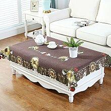 Einfache moderne leinen tuch tisch tuch,wohnzimmer