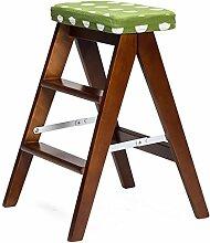 Einfache moderne Massivholz Falten Hocker Falten Leiter Hocker Portable Küche Hocker Home Klappstuhl ( farbe : # 10 )