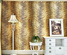 Einfache Moderne Tapete Design Tigerhaut Muster