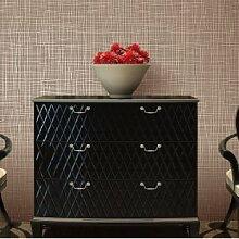 Einfache moderne Tapete Streifen Wohnzimmer Schlafzimmer Sofa Tapete TV Hintergrundwand , khaki 7116