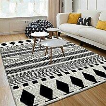 Einfache moderne Wohnzimmer Nachttisch Schlafzimmer Büro Teppich Home Rectangle Teppich ( farbe : # 1 , größe : 80*120cm )