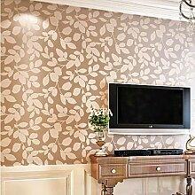 Einfache Non-Woven-Tapete, Kaffee, Schlafzimmer, Wohnzimmer, Sofa, Tv Hintergrund Wallpaper