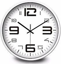 Einfache Persönlichkeit Home Decoration digitale Wand Aufkleber Wanduhr creative silent Clock 30 CM