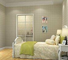 Einfache Plaid Importe von Uni Papiertapete Wind Tapete Beige Wohnzimmer Schlafzimmer Esszimmer Studie von England Tapete hellbeige