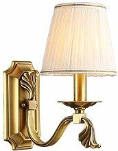 Einfache Schlafzimmer Nachttischlampe Warmes