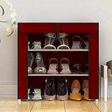 einfache Schuhe/Einfache billige moderne Schuhschrank/Staub und Wasser Schrank-B