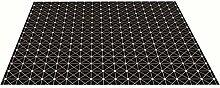 Einfache schwarz-weiß zuhause personalisierte teppich / wohnzimmer schlafzimmer kaffee mat mat / tür matte / nacht teppich / yoga matte / kinder krabbeln pad ( größe : 80*100cm )