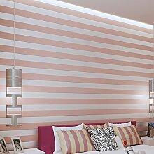 Einfache strömten Tapete/3D Vliestapete/Wohnzimmer TV Wand Hintergrundpapier/Strömten Schlafzimmer Tapeten/Festen vertikalen Streifen Tapete-C
