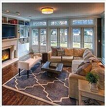 Einfache und moderne decke amerikanischer salon teppich teetisch decke schlafzimmer bett broadloom den carpet-I 200x300cm(79x118inch)