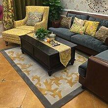 Einfache und moderne decke amerikanischer salon teppich teetisch decke schlafzimmer bett broadloom den carpet-J 250x350cm(98x138inch)