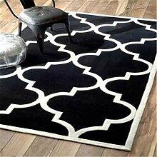 Einfache und moderne decke amerikanischer salon teppich teetisch decke schlafzimmer bett broadloom den carpet-H 160x230cm(63x91inch)