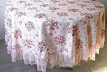 Einfache WFLJL style Tischdecke aus Baumwolle
