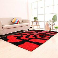 einfache Wohnzimmerteppich/Couchtisch Teppiche/ Schlafzimmer Teppich-G 140x200cm(55x79inch)